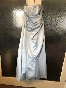 Sky Blue Bridesmaid dress