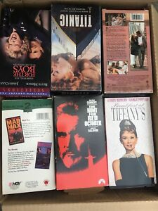 Complete VHS movie collection