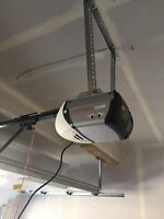 Garage door openers installation