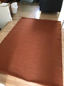 Tapis orange IKEA