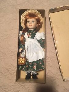 Anne of Green Gables collectible doll