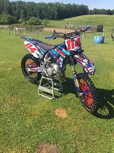 2015 yz 125 with very low hours