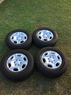 Genuine Ford Ranger Alloy Rims and Tyres