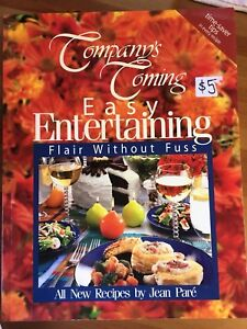 Company's Coming Cook Book $20