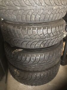Hona civic winter tires with rims