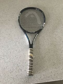 HEAD MX ICE ELITE TENNIS RACQUET IN GOOD CONDITION.