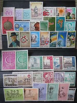 BELGIUM 1966 YEAR SET MNH** by1/cr266