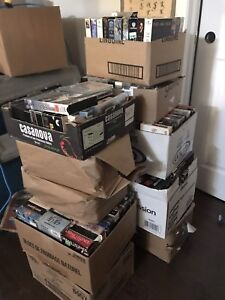 250 VHS Movies Trade for CDS