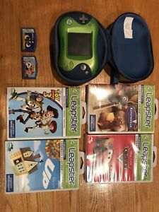 Leapster 2 video game with 6 games and case