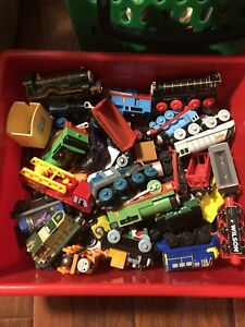 Lots of thomas the trains and tracks!