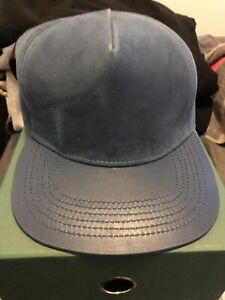 Brand New Buscemi Leather Hat