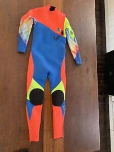 Girls Rip Curl steamer wetsuit Flashbomb 3.2 PRO zipless high quality