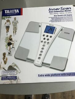 Tanita inner scan body composition scales