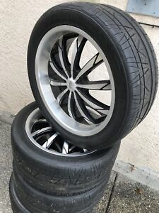 """20""""Wheels tires 5x112 & 5x114.3 Retail over $3,000"""