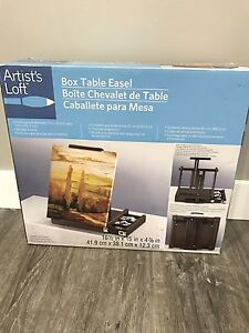 Brand new  table top easel