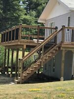 Need a fence , deck or garage?