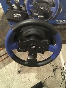 Thrustmaster T150 pro t3pa wheel and pedals with clutch