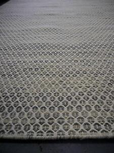 New Flatweave Braid Hive Tusk Geometric Woven Wool Rugs Melbourne CBD Melbourne City Preview