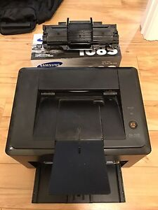 Samsung Mono Laser Printer ML 1640 with brand new ink cartridge