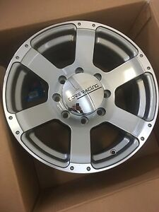 "17"".     8x6.5.  (8 x165.1mm).   Core rims.  Brand new."