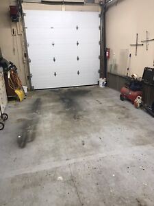 Heated garage by the hour