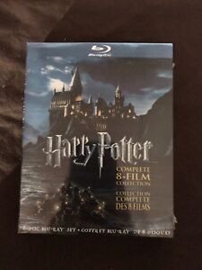 Blue-Ray Harry Potter DVD Collection