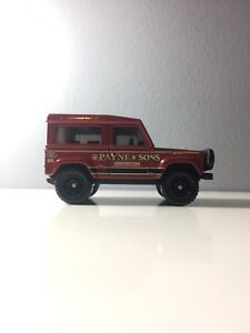 Matchbox Land Rover 90
