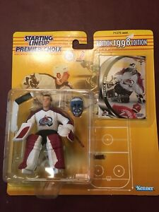 Patrick Roy Colorado Avalanche - Starting Line-Up Figure 1998