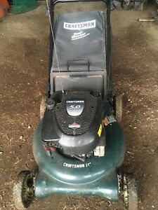 5.0hp Craftsman Push Mower