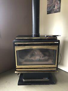 Hunter free standing gas unit. $450 o.b.o.