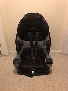 Car seat, 5-point harness to booster