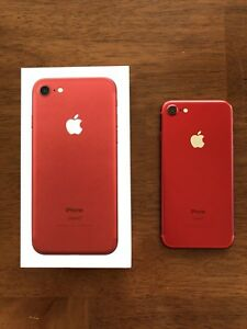 Red Iphone 7 - 256GB