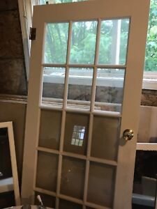 "34"" French door"