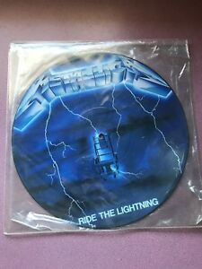Metallica ride the lighting vinyl LP Record