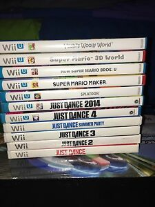 Wii/Wii U games and controllers!