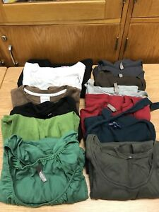 Assorted maternity tops