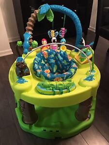 Evenflo Exersaucer Triple Fun - Life in the Amazon - Used