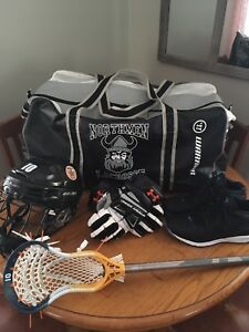 Lacrosse Gear and Stick