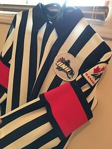 Referee jersey with detachable bands - medium