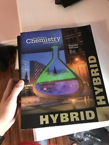 BIOLOGY AND CHEMISTRY TEXTBOOKS