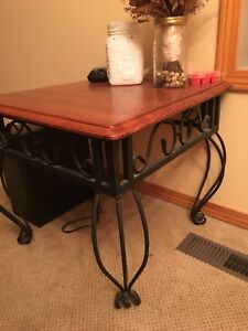 2 End Tables $20 for both!