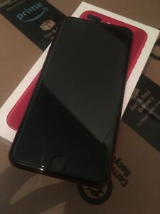Immaculate unlocked 64gb product red iphone 8 plus