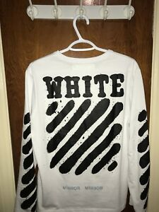 Off-White Diagonal Spray Long Sleeve