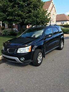 Pontiac Torrent V6 AWD, tout cuir, toit ouvrant, Hitch 3500lbs