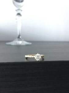Brand New Diamond Engagement Ring 1.04 Carats