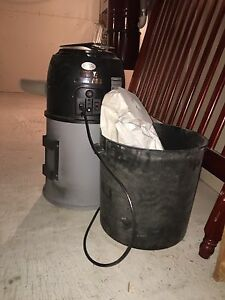 Old used Kenmore central vac canister unit only