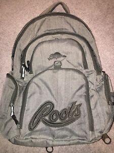 Roots Dark Grey Backpack