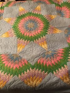 Hand made Medallion Quilt