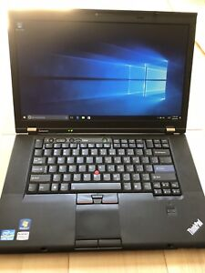 "Lenovo ThinkPad T520, Windows 10, 8gb RAM, Core i5, 15.6"" Screen"