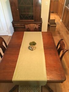 Wooden dining suit